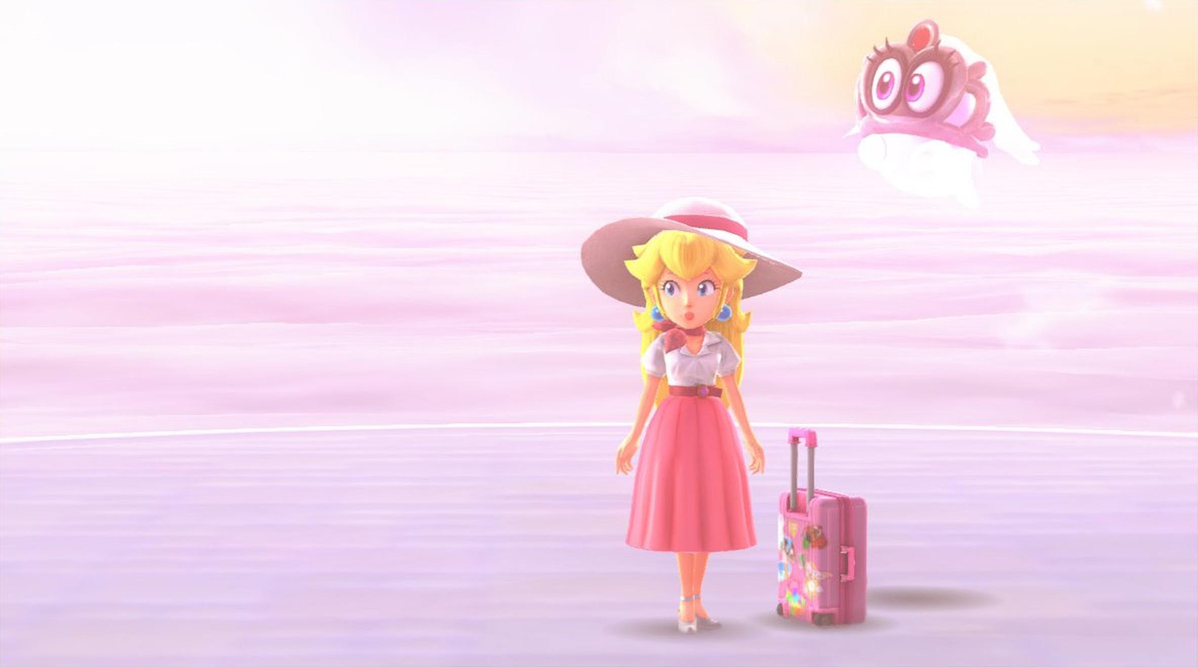 Mario Odyssey Peach Backgrounds